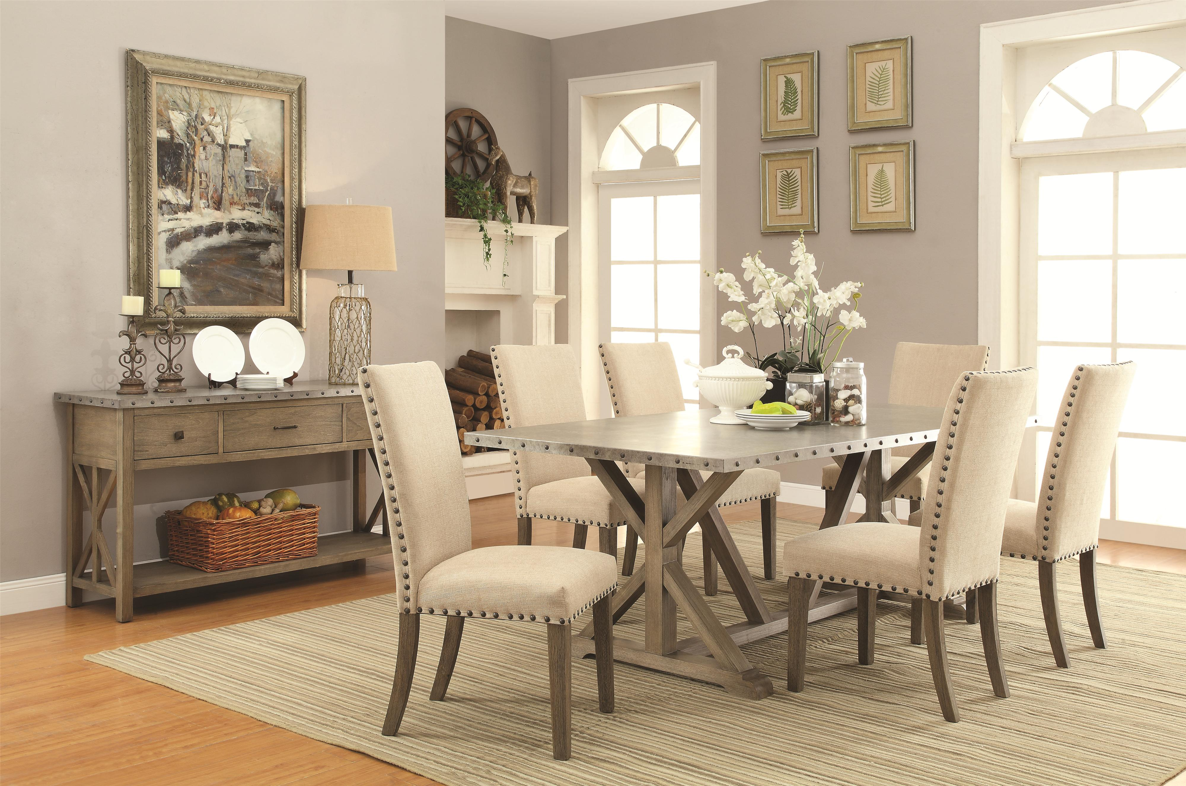 Casual Dining Room Group by Coaster | Wolf and Gardiner Wolf Furniture