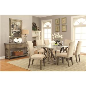 Coaster Webber Casual Dining Room Group