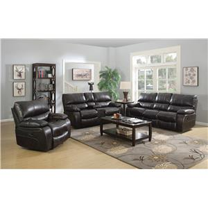 Coaster Willemse Reclining Living Room Group