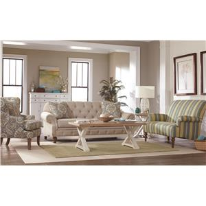 Craftmaster 746300 Stationary Living Room Group