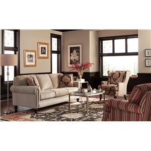 Craftmaster 748500 Stationary Living Room Group