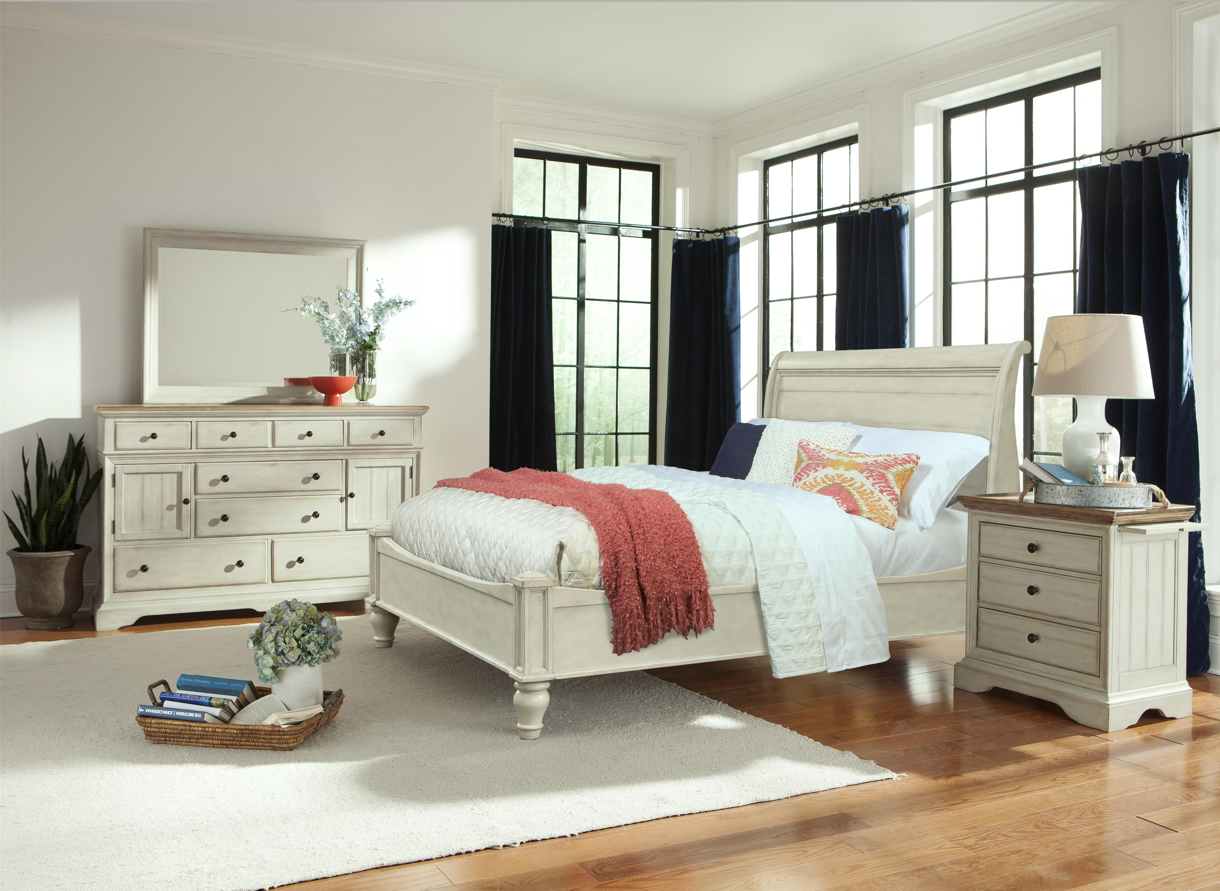 Cal King Bedroom Group by Cresent Fine Furniture | Wolf and Gardiner ...