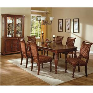 Crown Mark Savoy Formal Dining Room Group