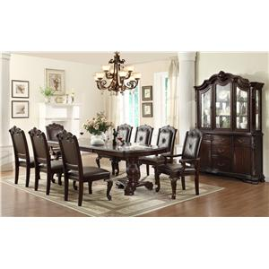 Crown Mark Kiera Formal Dining Room Group