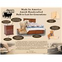 Daniel's Amish Amish Classic 8-Drawer Triple Dresser
