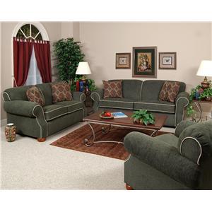 England Conner Casual Contemporary Sofa
