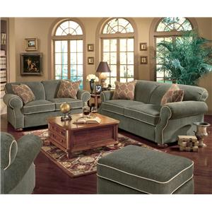 England Conner Casual Queen Sleeper Sofa