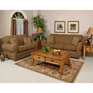 England ANNETTE Accent Chair and Ottoman