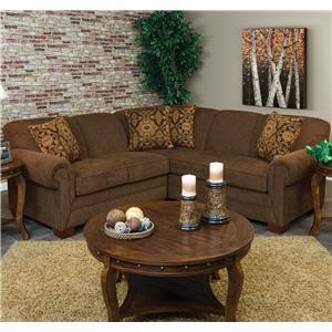England Monroe Traditional Stationary Sofa