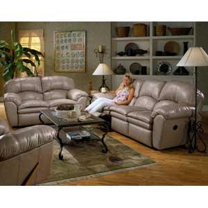 England Oakland Leather Sofa Sleeper