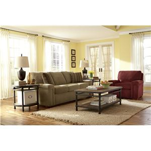 Flexsteel Blanchard Stationary Living Room Group