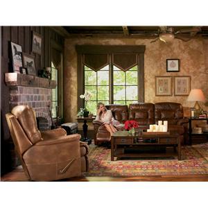 Flexsteel Latitudes - Great Escape Double Reclining Sofa