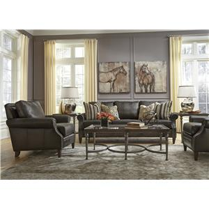 Flexsteel Latitudes-Daltry Stationary Living Room Group