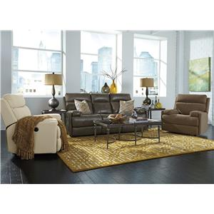 Flexsteel Latitudes-Nathan Reclining Living Room Group