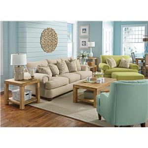 Flexsteel Patterson  Stationary Living Room Group
