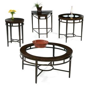 Flexsteel Symphony Round Cocktail / Coffee Table