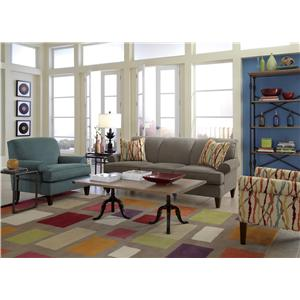 Flexsteel Venture Stationary Living Room Group
