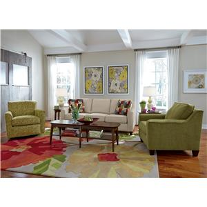Flexsteel William Stationary Living Room Group