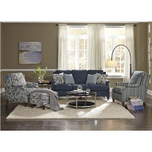 Flexsteel Zevon Stationary Living Room Group