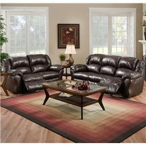 Franklin 691 Reclining Living Room Group
