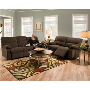 Franklin Galaxy  Reclining Living Room Group