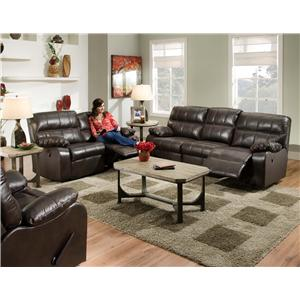 Franklin Galaxy 465 Reclining Living Room Group