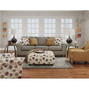 Fusion Furniture 1420  Stationary Living Room Group