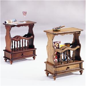 Hammary Chairsides Cherry Chairside Table