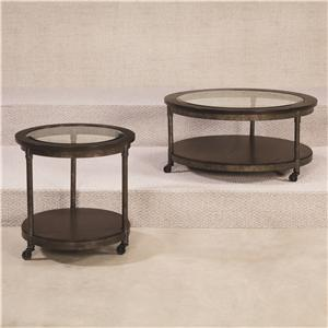 Hammary Structure Round End Table