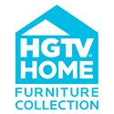 HGTV Home Furniture Collection Upholstery  Dining Wing Chair with Traditional Furniture Style and Camel Wing Back