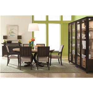 HGTV Home Furniture Collection Voyage Dining Room Group