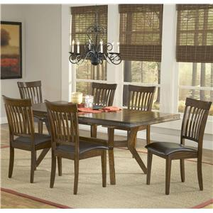 Hillsdale Arbor Hill 7 Piece Counter Height Table Set