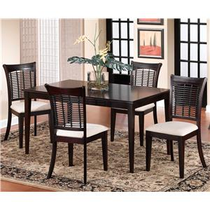 Hillsdale Bayberry and Glenmary Wicker Dining Side Chair