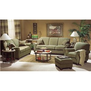 Flexsteel Winston Stationary Living Room Group