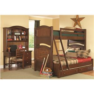 Homelegance Aris Bunkbed Bedroom Group