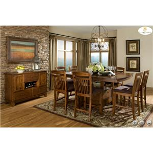 Homelegance Marcel Casual Dining Room Group