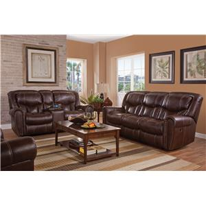 HomeStretch 123 Collection Power Reclining Living Room Group
