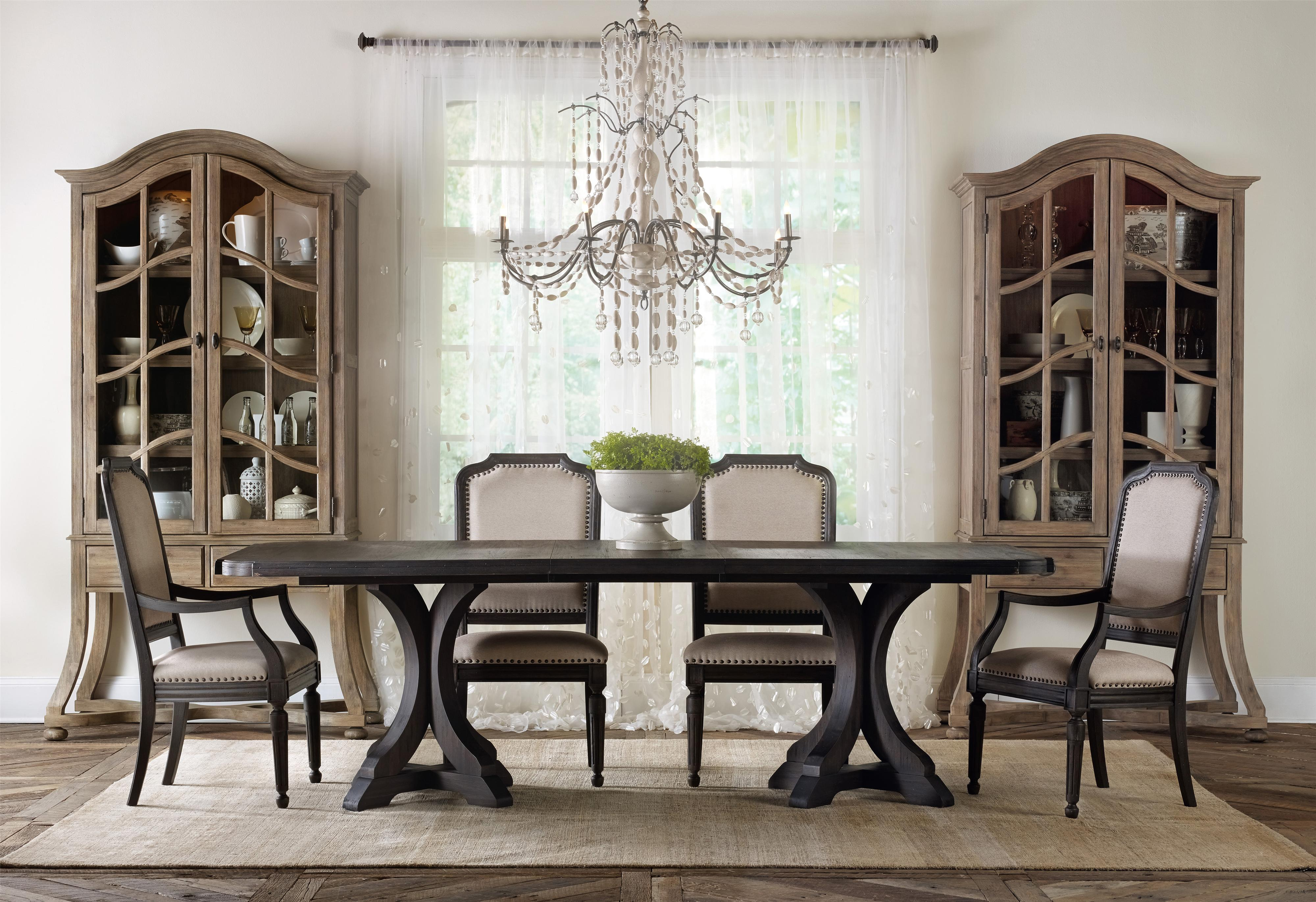 Formal Dining Room Group with Display Cabinets by Hooker Furniture ...