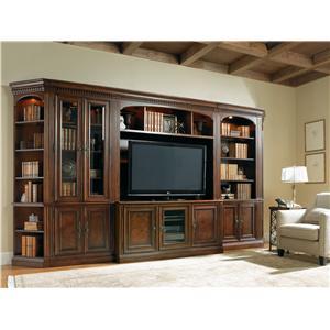 Hooker Furniture European Renaissance II Knee-Hole Computer Credenza