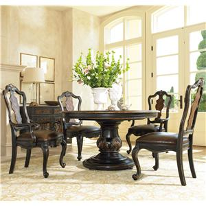 Hooker Furniture Grandover Formal Dining Room Group