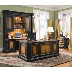 Hooker Furniture North Hampton Bonnet Top Display Cabinet
