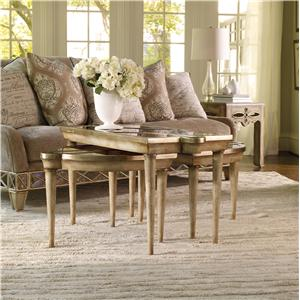 Hooker Furniture Sanctuary Round Mirrored Accent Table
