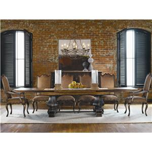Hooker Furniture Sanctuary Refectory Dining Table