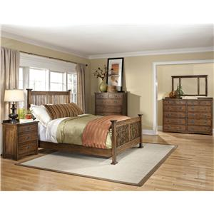 Intercon Oak Park Queen Bedroom Group