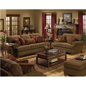 Jackson Furniture 4347 Belmont Stationary Living Room Group