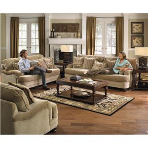 Jackson Furniture Brennan Stationary Living Room Group