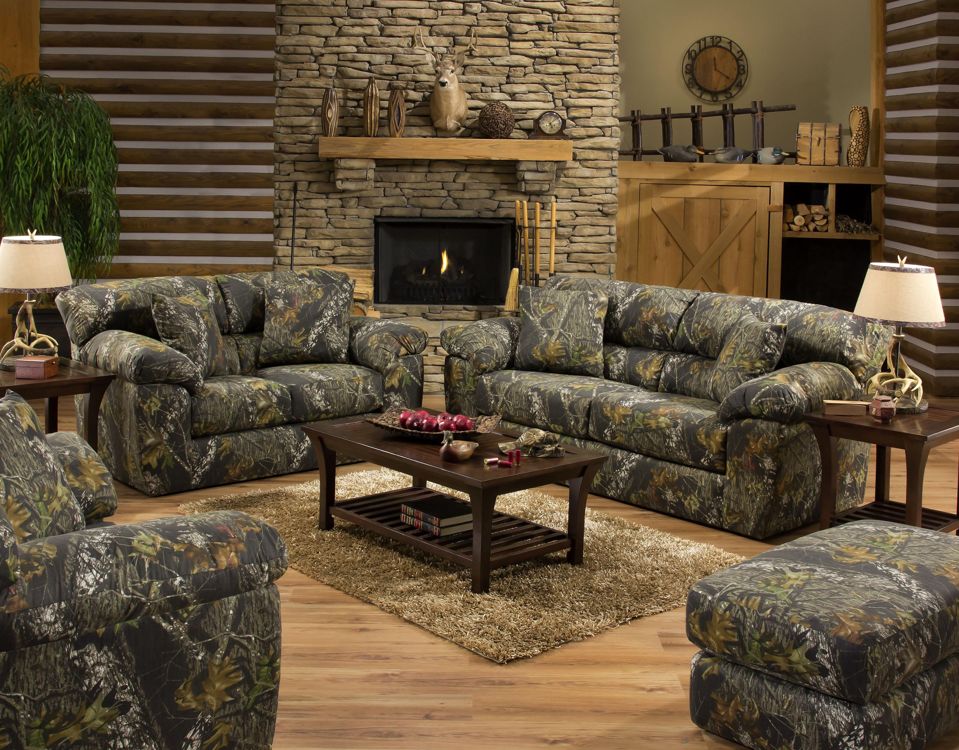 Stationary Living Room Group by Jackson Furniture | Wolf and ...