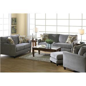 Jackson Furniture Maggie Stationary Living Room Group
