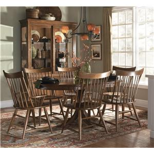 Kincaid Furniture Cherry Park Formal Dining Room Group
