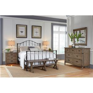 Kincaid Furniture Foundry King Bedroom Group